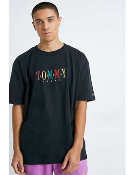 Tommy Jeans 85 Black Short Sleeve T Shirt by Tommy Jeans