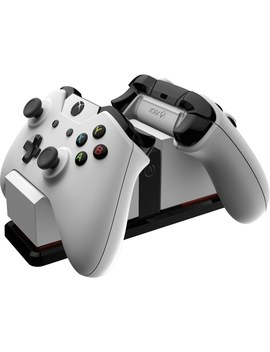 Xbox One Dual Charging Station (Elite Compatible) White by Smyths