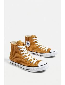 Converse Chuck Taylor All Star Wheat Corduroy High Top Trainers by Converse