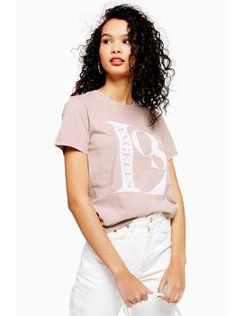La Printed T Shirt by Topshop