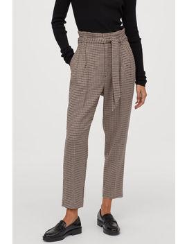 Nohavice SNaberaným Pásom by H&M
