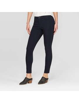 Women's High Rise Skinny Jeans   Universal Thread™ Rinse by Universal Thread