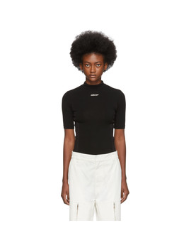 Black Fitted Turtleneck by Ambush