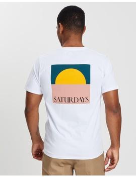 Saturdays Sun Ss Tee by Saturdays Nyc