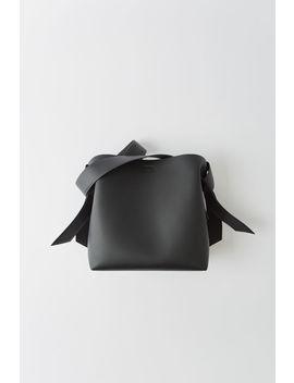 Medium Leather Handbag Black by Acne Studios