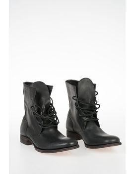 Leather Boots by Carpe Diem