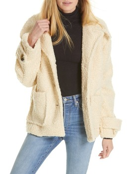 So Soft Teddy Coat by Free People
