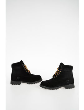 Timberland Fabric Ankle Boots by Off White
