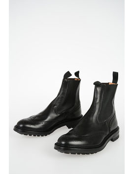 Leather Henry Ankle Boots by Tricker's
