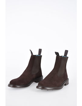Suede Leather Stephen Revival Ankle Boots by Tricker's