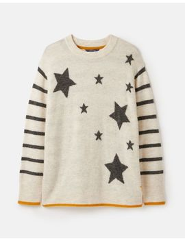 Chantelle Star Intarsia Jumper by Joules