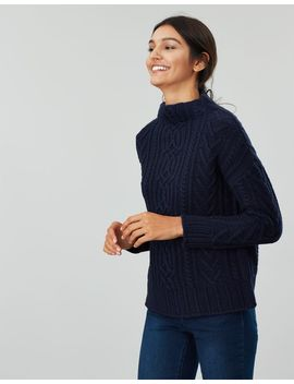 Jamie Cable Jumper by Joules