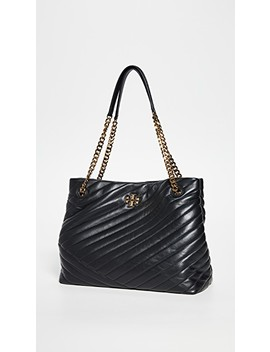 Kira Chevron Tote Bag by Tory Burch