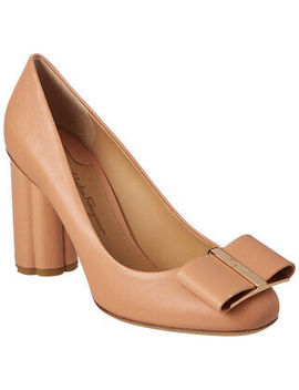 Salvatore Ferragamo Capua Leather Pump Women's by Ebay Seller