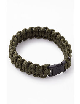 Rothco Olive Paracord Bracelet by Pacsun