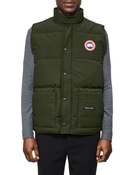 Freestyle Regular Fit Down Vest by Canada Goose