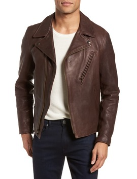 Leather Moto Jacket by Schott Nyc