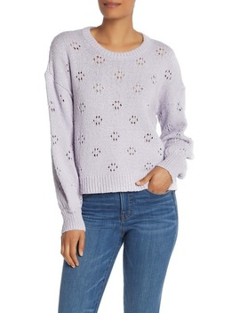 Floral Pointelle Pullover Sweater (Regular & Plus Size) by Madewell