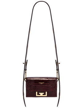 Nano Eden Crocodile Embossed Leather Bag by Givenchy