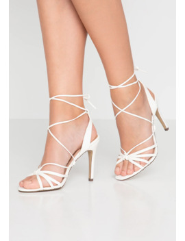 Starfish   High Heeled Sandals by New Look