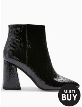 Topshop Point Ankle Boots   Black by Topshop
