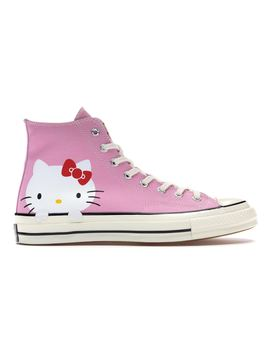 Converse Chuck Taylor All Star 70s Hi Hello Kitty Pink by Stock X