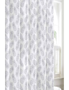 Pineapple Shower Curtain by Tommy Bahama