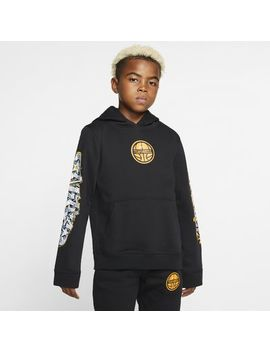 Nike Sportswear Club Big Kids' (Boys') Pullover Hoodie. Nike.Com by Nike
