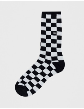 Vans Checkboard Crew Socks by Vans'