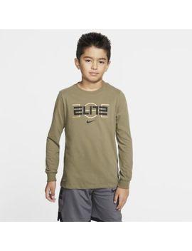 Nike Dri Fit Big Kids' (Boys') Basketball T Shirt. Nike.Com by Nike
