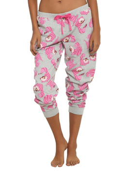 Disney Alice In Wonderland Cheshire Cat Girls Jogger Pants by Hot Topic