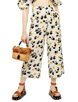 Frida Crop Wide Leg Trousers by Topshop
