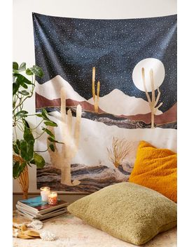 Space Frog Designs For Deny Desert View Tapestry by Deny Designs