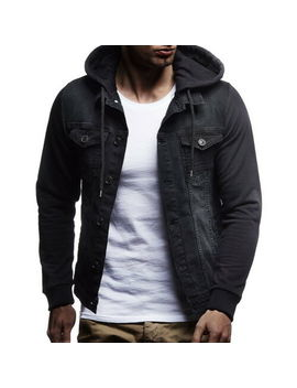 New Men's Winter Outwear Sweater Slim Hoodies Warm Hooded Sweatshirt Coat Jacket by Unbranded