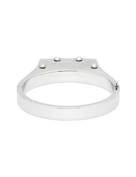 Silver Handcuff Bracelet by Vetements