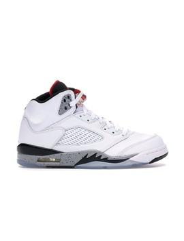 Jordan 5 Retro White Cement by Stock X
