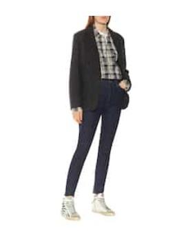 Charly Herringbone Wool Jacket by Isabel Marant, Étoile