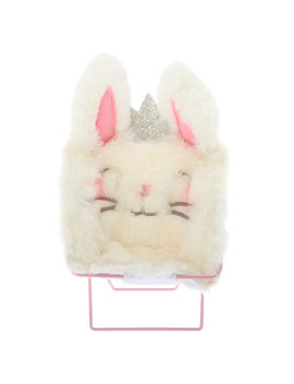 Claire The Bunny Papasan Chair Phone Holder   White by Claire's