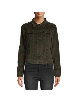 Women's Corduroy Jacket by Per Se