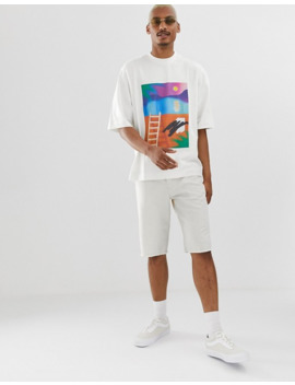 Noak   T Shirt Oversize Con Stampa Artistica by Noak