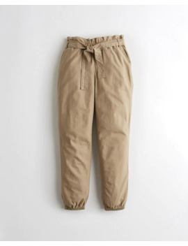 Ultra High Rise Paper Bag Joggers by Hollister