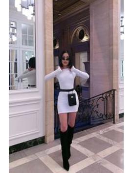 Fit You In Belt Bag   Black by Fashion Nova