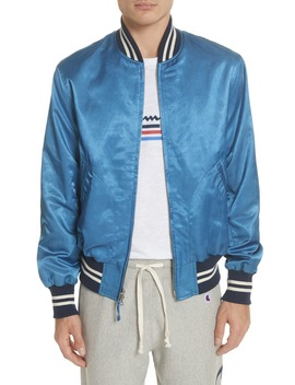 + Champion Bomber Jacket by Todd Snyder