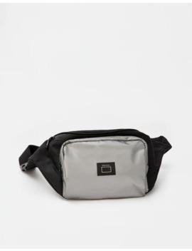 Bolsa De Cintura Combinada Refletora by Pull & Bear