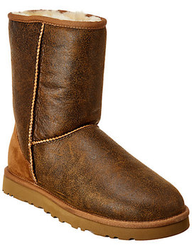 Ugg Classic Short Suede Bomber Boot by Ugg