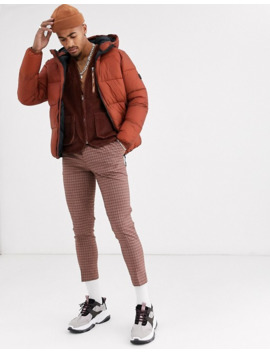 Pull&Bear Puffer Jacket In Copper by Pull&Bear
