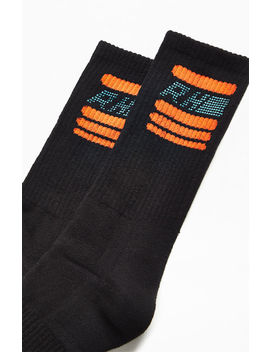 Rhuigi Black Rhacer Crew Socks by Pacsun