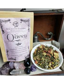Queen Organic Loose Leaf Tea, Caffeine Free by Etsy