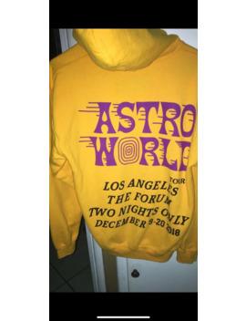 Travis Scott Astroworld Exclusive La(Lakers) Hoodie by Travis Scott  ×