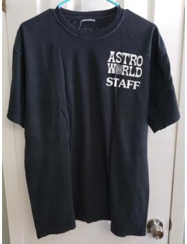 Travis Scott Astroworld Staff Tee Black by Travis Scott  ×